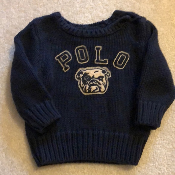 15a5de54 Polo by Ralph Lauren Shirts & Tops | Polo Ralph Lauren Navy Sweater ...